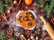 Коледни сладки / бисквити с канела и джинджифил
